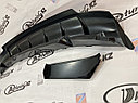 Диффузор - накладка на задний бампер «Фортуна» Приора хетчбэк, фото 8
