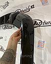 Диффузор - накладка на задний бампер «Фортуна» Приора хетчбэк, фото 9