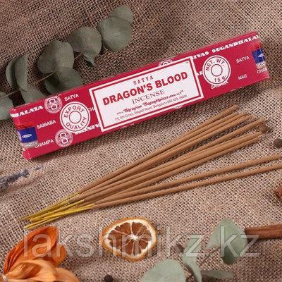 Благовония натуральные Кровь Дракона Сатья (Dragon Blood Satya) 15 г