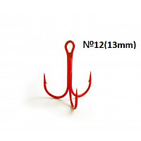 Тройной крючок Fanatik FT-1103 №12(13mm)RED