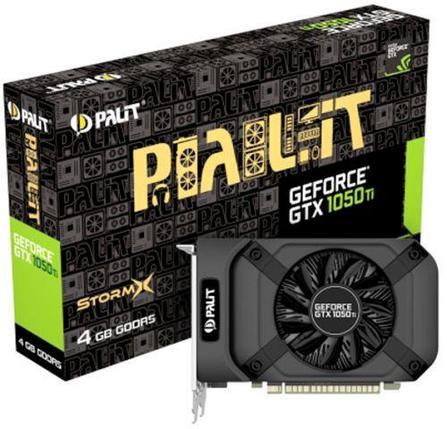 Видеокарта Palit STORMX GTX 1050 Ti, 4Gb/128bit, GDDR5, 1290/1392MHz, фото 2