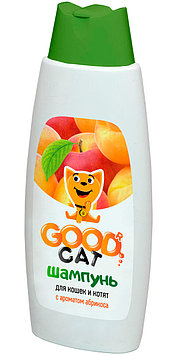 Шампунь Good Cat для кошек и котят с ароматом абрикоса