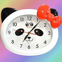 Настенные часы Panda baby 668S фигурные в виде панды