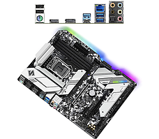 Материнская плата ASRock H470 STEEL LEGEND LGA1200 4xDDR4 6xSATA RAID 2xUM.2 HDMI DP ATX