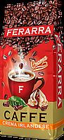 Кофе натуральный жареный в зернах с ароматом ирландского крема Crema Irlandese, 1000/6, ТМ Ferarra