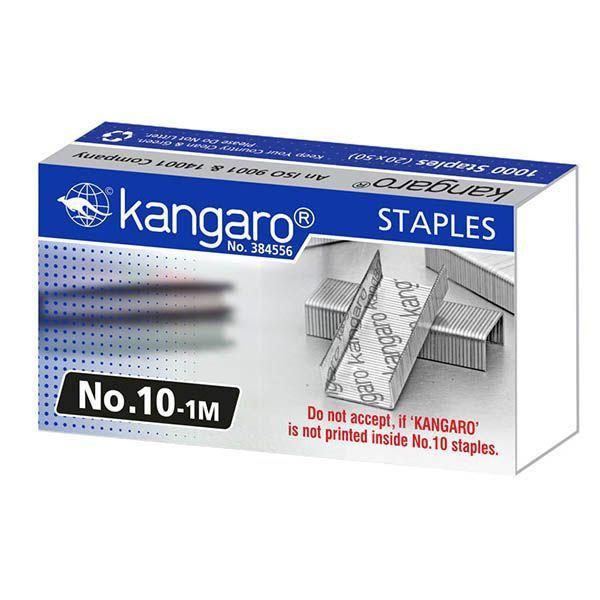 Скобы для степлера №10, 1-15л, 1000шт, оцинкованные Kangaro
