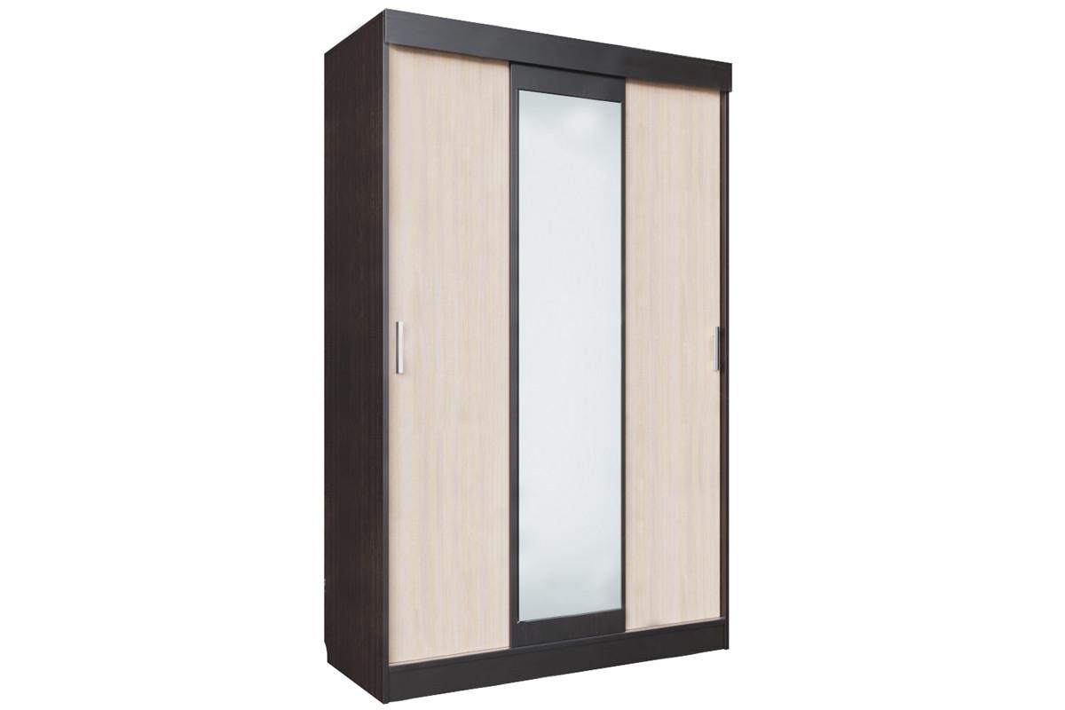 Шкаф для одежды 3Д , модульной системы Эдем 5, Дуб Млечный, СВ Мебель (Россия)