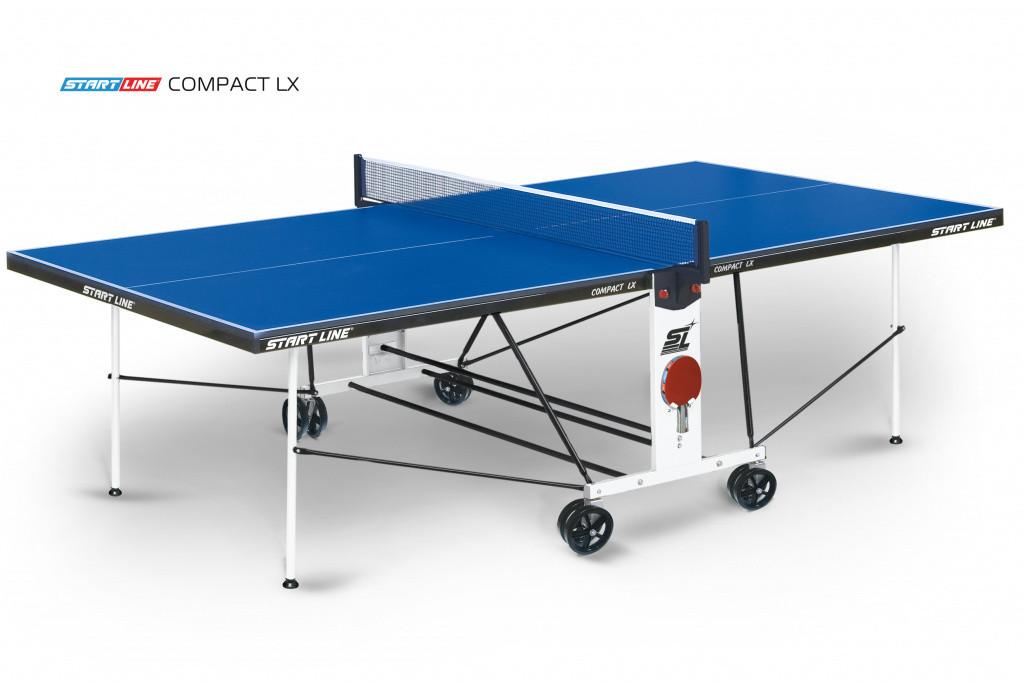 Теннисный стол Compact LX - усовершенствованная модель
