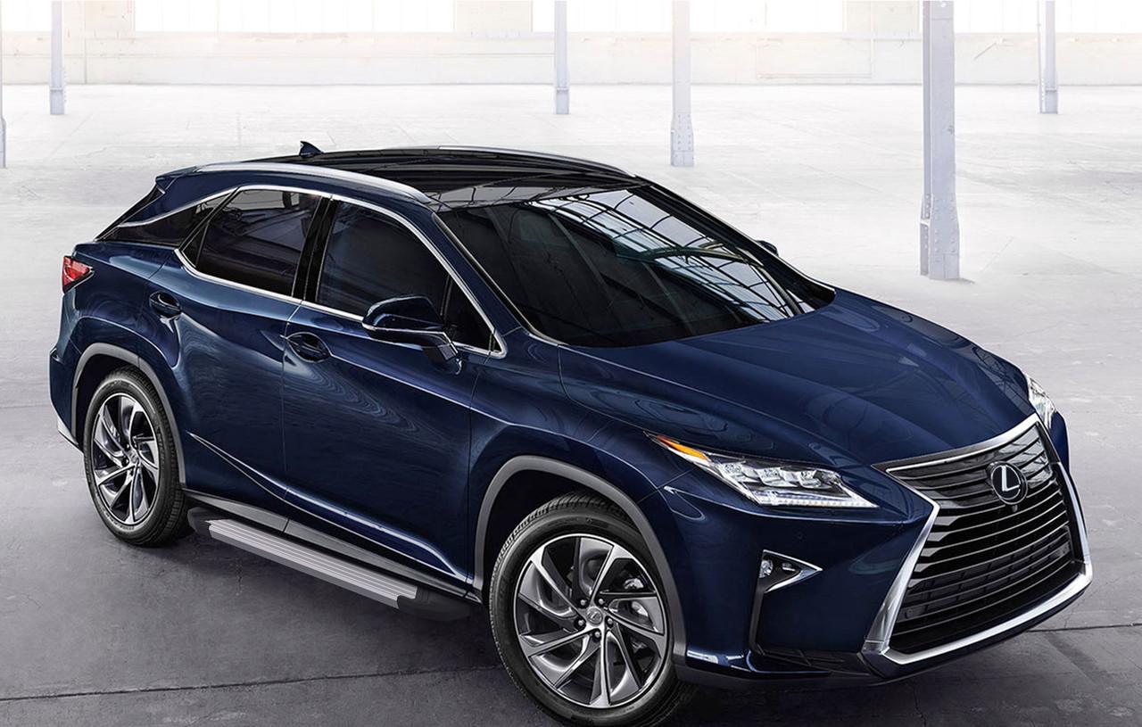 "Пороги ""Silver"" Lexus RX (2015-)"