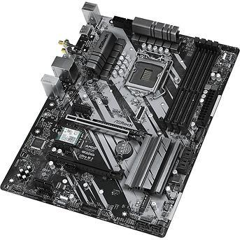 Материнская плата ASRock Z490 PHANTOM GAMING 4/AC LGA1200 4xDDR4 6xSATA RAID UM.2 HDMI WiFi ATX