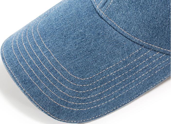 Бейсболка джинсовая, с длинным козырьком-сэндвич - фото 9