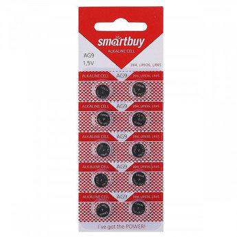 Батарейка часовая Smartbuy AG9 (G9, 394, LR45, LR936) 10 шт в уп.