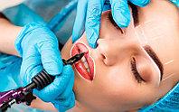 Перманентный макияж губы, брови, глаза