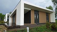 Японская фиброцементная фасадная панель KMEW Под дерево артикул CW1831GC
