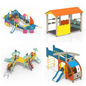 Детские игровые комплексы (производство Россия)