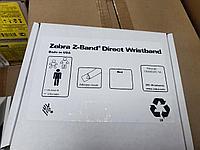 Картридж-браслеты ZEBRA красные, 25,4х279,4 мм (для взрослых) Zebra