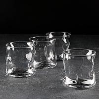 Набор стаканов для виски Amorf, 340 мл, 4 шт, фото 1