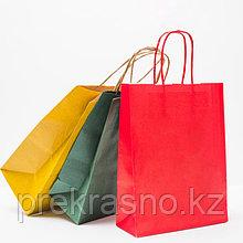 Пакет подарочный крафт 26*33