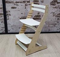 Растущий регулируемый стул. Детский стульчик для кормления Вырастайка - лофт