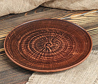 Тарелка (красная глина) 24  см