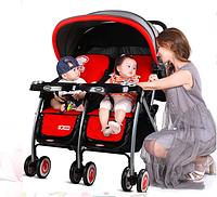 Детская коляска для двойни 703