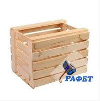 Ящик для овощей деревянный. Модель №13