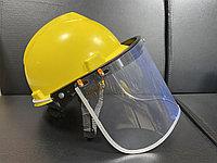 Защитный лицевой щиток с креплением на каску, фото 1