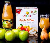 Яблочно -грушевый сок Delis 1л