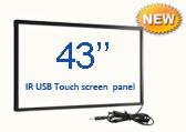 "Сенсорная USB ИК рамка 43"" SX-IR430 USB Touch screen panel, без защитного стекла"