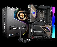 Материнская плата ASRock Z490 TAICHI LGA1200 4xDDR4 8xSATA RAID 3xUM.2 HDMI DP ATX, фото 1