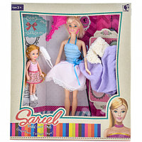 Кукла Модель с ребенком и аксессуарами