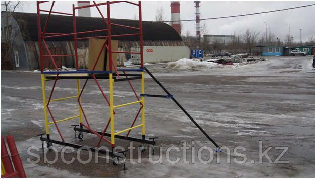 Вышка тура для строительных отделочных работ леса строительные на колесах