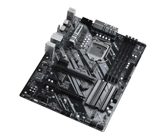 Материнская плата ASRock H470 PHANTOM GAMING 4 LGA1200 4xDDR4 6xSATA RAID 2xUM.2 HDMI DP ATX