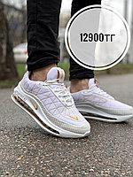 Крос Nike 720-818 бел-золото, фото 1