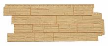Панель фасадная GL полипропиленовая. Сланец. Стандарт песочный