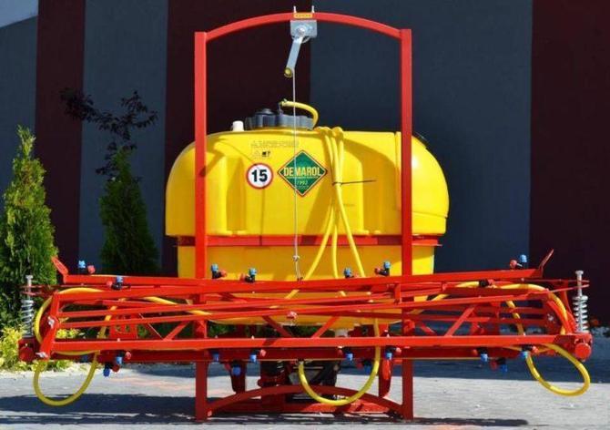 Опрыскиватель пестицидный навесной 300л-10м Demarol Польша, фото 2