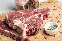 Стейк Тибон (T bone) говядина в вакуумной упаковке