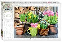 """Мозаика """"puzzle"""" 560 """"Весенние цветы"""""""