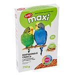 Ешка для волнистых попугаев, с витаминами для окраса пера, уп. 750гр.
