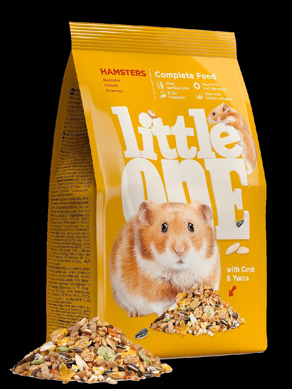 Little One, корм для хомячков, уп.400гр.