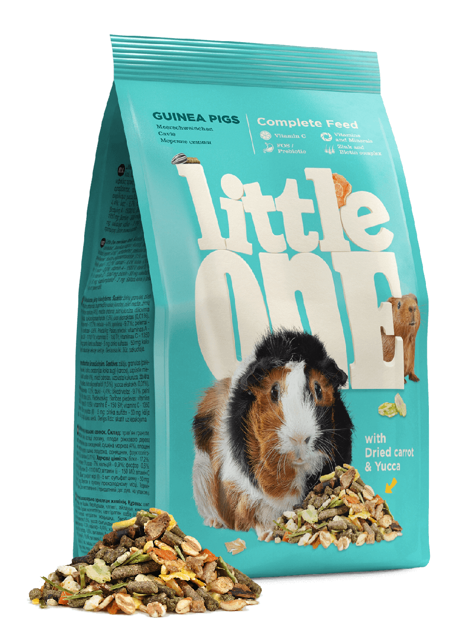 Little One, корм для морских свинок, уп.900гр.