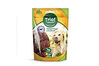 Сосиски Triol для собак, из ягненка с уткой