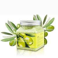 Скраб для тела с Оливой Wokali Olive Sherbet Body Scrub,350 ml
