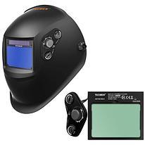 Сварочная маска с автоматическим светофильтром Tecmen ADF - 730S TM15 черная