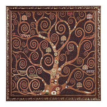 "Гобеленовая картина ""Древо жизни"" 50х52 см рамка микс"