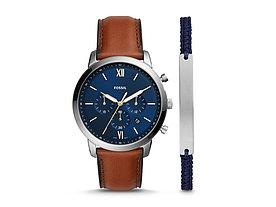 Подарочный набор: часы наручные мужские, браслет. Fossil