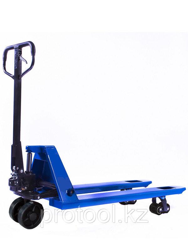 Тележка гидравлическая TOR RHP 2500, 1150х550 мм (резиновое колесо)