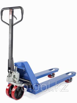Тележка гидравлическая TOR RHP 2500, 1150х550 мм (резиновое колесо), фото 2