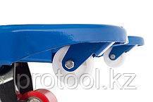 Тележка гидравлическая TOR RHP 2500, 1150х550 мм (полиуретановые колеса), фото 2