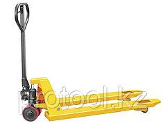 Тележка гидравлическая TOR г/п 2000 кг DB (полиуретановые колеса)